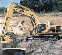 Caterpillar 385B excavator