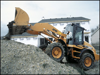 Case D Series compact wheel loader