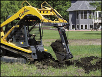 FFC Attachments Mini-Hoe for skid-steer loaders