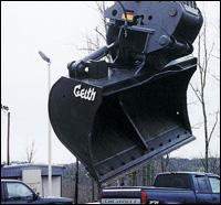 Geith Pro-Tilt bucket attachment