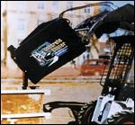 Glenmac Harley Concrete Chuter attachment