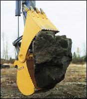 Helac PowerGrip bucket attachment