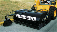 Sweepster SB Series sweeper attachment