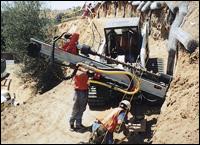 HCM rock drill attachment