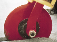 Allied Construction Products Roto-Cut asphalt cutter attachment
