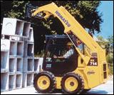 Komatsu SK714-5 skid-steer loader