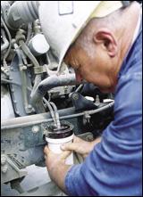 Mechanic Buz Shaw