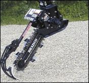 ATI Bradco 600 mini-trencher attachment
