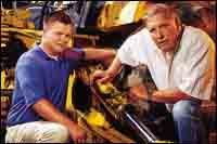 Head mechanic Gary Gilliland