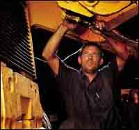 Mechanic Robert Gutridge