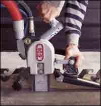 Concrete chain saw.