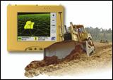 Dozer with Topcon 3-D GPS