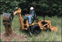 Ingersoll Equipment 7020LBH backhoe loader