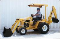 Waldon Lay-Mor LB30 backhoe loader