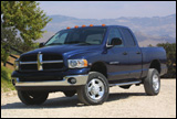 Dodge Ram pickup with 4-wheel drive