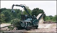 Bandit 3680 Track Beast Recycler horizontal grinder
