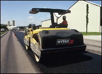 Hypac C784 tandem vibratory roller