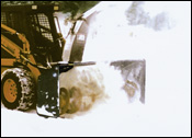 FFC Attachment's SnowBlower attachment for skid-steer loaders