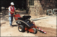 Ditch Witch 1330 trencher