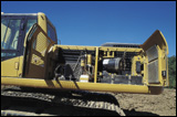 Cooling system on Caterpillar's 330C excavator