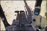 Monitor in Caterpillar's 330C excavator