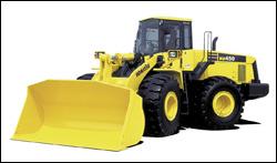 Komatsu Dash-5 wheel loader