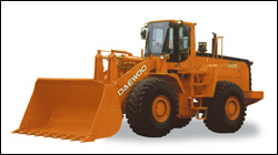 Daewoo Mega-V wheel loader