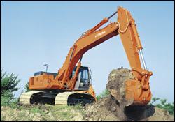 Hitachi Zaxis crawler excavator