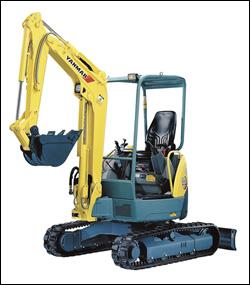 Yanmar ViO Series mini-excavator