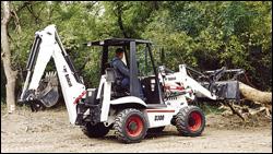 Bobcat B300 backhoe-loader