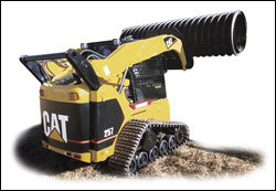 Caterpillar multi-terrain compact track loader