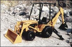 Ingersoll 7020LBH backhoe-loader