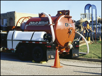 Ditch Witch FX30 Vacuum Excavation System