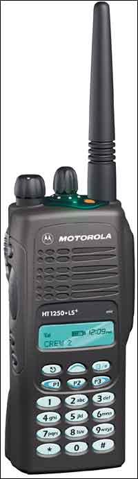 Motorola HT1250•LS+ and HT1250•LS