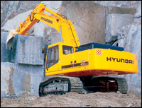 Hyundai Finishes Its Excavator Offer