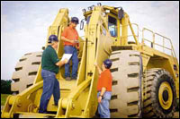 TPM throughly trains operators to maintain their machines.