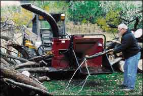 Bear Cat Skid-Steer Chippers