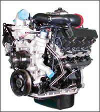 4.5-liter V-6 VT275 diesel