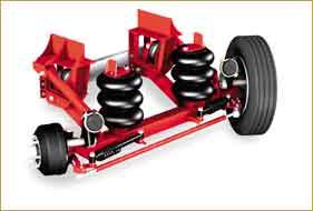 Tru-Track Super Lite lift axle