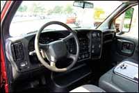 GM's interior.