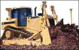 D8T, D9T, D10T track-type tractors