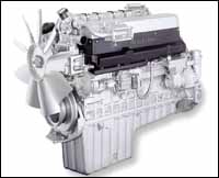 Mercedes-Benz Engine.