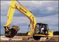 EH Series excavators