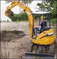 CX compact excavators