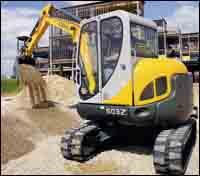 503Z, 753Z, Models 503Z, 603 mini-excavators