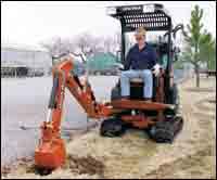 XT850 excavator/tool carrier