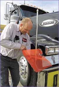 Driver Ron Zarndt