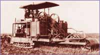First crawler tractor