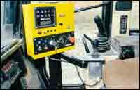 In-cab panel