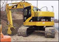 Caterpillar C Series excavator